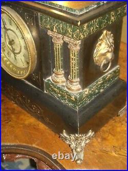 Antique Vintage Seth Thomas Adamantine mantle clock working