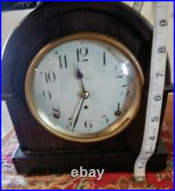 Antique/Vintage Seth Thomas Mantle Tabletop Clock Works Perfectly