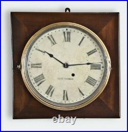 Antique Working 1920 SETH THOMAS Office No. 1 Gallery Lobby Regulator Wall Clock
