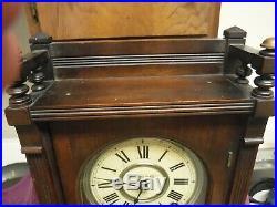 Antique seth thomas city series clock large original working
