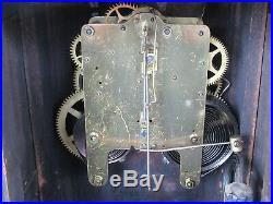 Beautiful Antique 19th Century Seth Thomas 4 Column Mantle Clock with Key (Works)