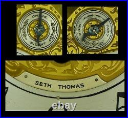 Beautiful Seth Thomas Chime No 72 fully serviced & tested. Ready for a new home