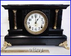Beautiful Working Antique Seth Thomas Mantel Clock