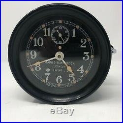 Boat Clock, MK I, Seth Thomas, circa 1942, US Navy
