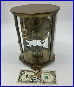 Elegant Antique Seth Thomas Orchid No. 0 Crystal Regulator Mantel Clock, C-1913