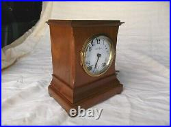 Good Running Antique C1909 Seth Thomasturin8-day Time & Strike Mantel Clock