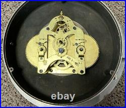Large Ashcroft Ships Clock US Engineering Dept (Army) c. 1920's Not Running