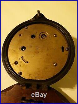 Mark 1 Boat Clock Deck US Navy Seth Thomas 1941 Mounted 15128 4 1/4 Small