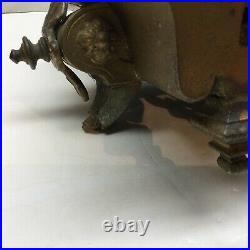 Mitchell Vance & Co Seth Thomas & Sons Antique Statue Clock Repair Female Rare