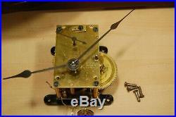 Original Antique Seth Thomas no. 2 weight driven regulator wall clock movement