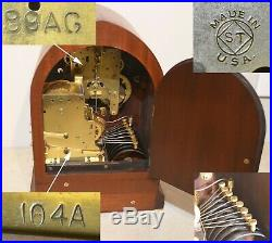 Rare & Restored Seth Thomas Antique 8 Bell Sonora Chime Clock 264 1912