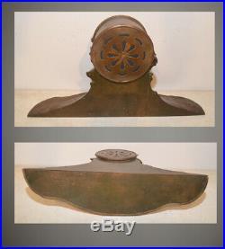 Rare Seth Thomas Restored Montauk Antique Ships Bell Clock In Bronze Sculpture