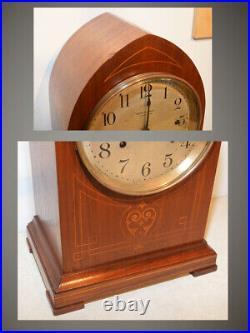 Restored 8 Bellrare & Grand Antique Seth Thomas Sonora Chime Clock No. 266-1909