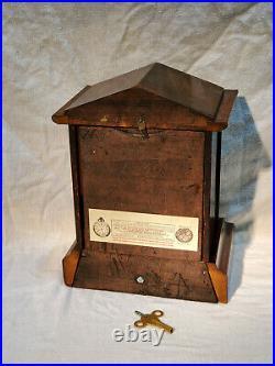 Restored Antique Seth Thomas Adamantine Shelf Clock ©1913 Original 89 Movement