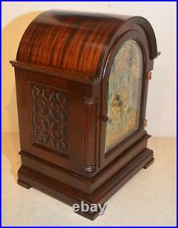 Restored Seth Thomas Grand & Rare Antique 8 Bell Sonora Chime Clock 2000 1912