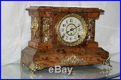 SETH THOMAS Mantel Antique Clock c/1900- Totally RESTORED