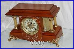 SETH THOMAS Mantel Antique Clock c/1904 Model SUCILE Totally Restored