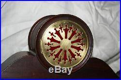 SETH THOMAS Mantel Antique Clock c/1913 Model PEER Mahogany -Totally Restored