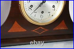 SETH THOMAS Mantel Antique Clock c/1929 Model OXFORD Mahogany -Totally Restored