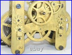 SETH THOMAS for BAIRD CLOCK CO. #50 DOUBLE WIND 15 DAY CLOCK MOVEMENT KS271