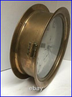 Seth Thomas 10 Dial Pilot House Movement Ships Clock