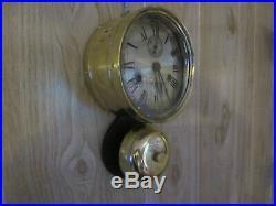 Seth Thomas 1st Generation External Bell Ships Clock, Great Lakes Steamship