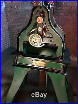 Seth Thomas #5 Tower Clock Seconds Pendulum Complete