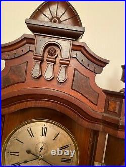 Seth Thomas #5 Walnut Antique Wall Regulator