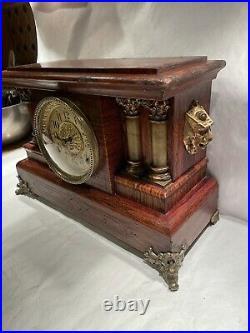 Seth Thomas Antique Adamantine Mantel Clock