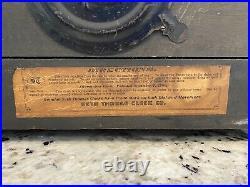 Seth Thomas Antique Adamantine Mantle Clock Made in 1900 No Key
