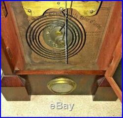 Seth Thomas Antique OG or Ogee Top Keyhole Shelf Clock