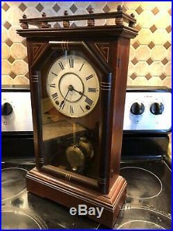Seth Thomas Antique Parlor/Kitchen/Mantel Clock- City Series Omaha