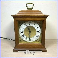 Seth Thomas Antique Vintage Wooden Chime Clock Meth 1214 Dimensions 6.5 x 8