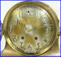 Seth Thomas Celtic Clock 15day Time & Strike Pendulum Clock! Runs Bd12