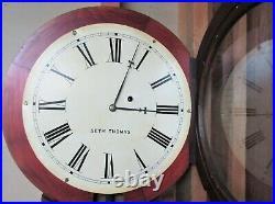 Seth Thomas Clock Co. Plymouth Hollow, Conn. First Regulator No. 2, ca 1863