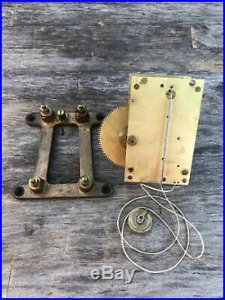 Seth Thomas No. 2 Weight Regulator Antique Original Wall Clock Movement