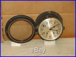 Seth Thomas U. S. Navy Ships Bell Clock 6 Inch Dialww21943chelsea Key