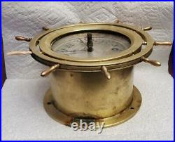 Seth Thomas WW2 1940s Seven Jeweled 8 Day Ships Bell