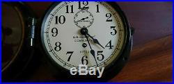 Seth Thomas WWII U. S. Maritime Commission Clock