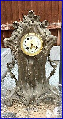 Seth Thomas art nouveau clock