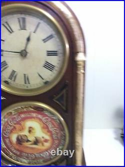 Very Rare Antique Seth Thomas Coca Cola Drink Invigorating Clock 18 Working