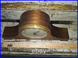 Vintage 1920's Seth thomas mantle clock(5213) not working needs power cord