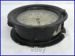 Vintage SS Enid Seth Thomas Maritime Commission Ships Clock