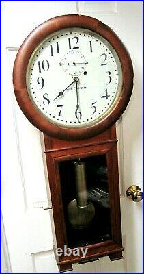 Vintage Seth Thomas #2 Weight Driven Regulator Clock (1900) In Walnut
