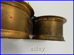 Vintage Seth Thomas Corsair E537-012 Maritime Ships Bell Clock & Barometer Set