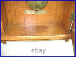 Vintage Seth Thomas Oak 30 Day Wall Regulator- A Beauty