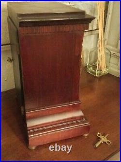 Vtg/Antique 1903 USA Seth Thomas 8 day Mantle Clock with A 48-R Movement w key