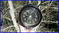 WW2 USN U. S. Navy Mark I Boat SHIP NAUTICAL Clock Seth Thomas