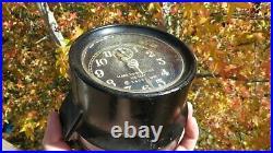 Ww2 Usn Seth Thomas U. S. Navy Ship's Mark I Boat Clock Works